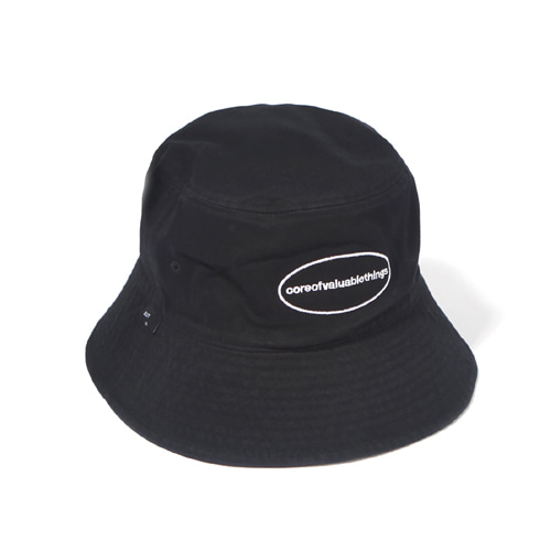 [벗딥] CORE BUCKET HAT-BLACK