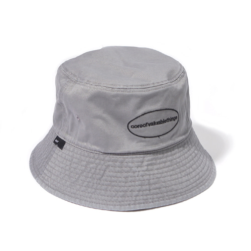 [벗딥] CORE BUCKET HAT-GREY